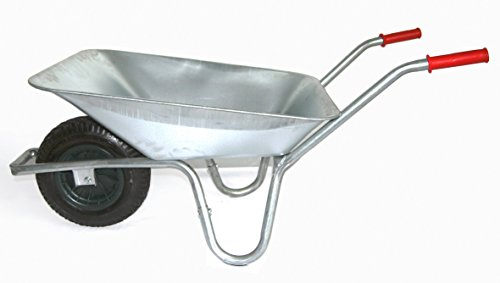 Schubkarre 85 Liter bis Belastbarkeit 250 kg,...