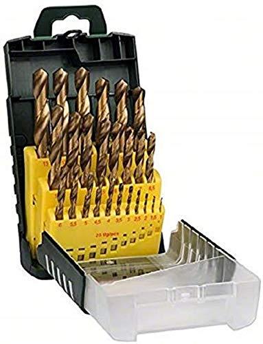 Bosch 25tlg. Metallbohrer-Set HSS-TiN...