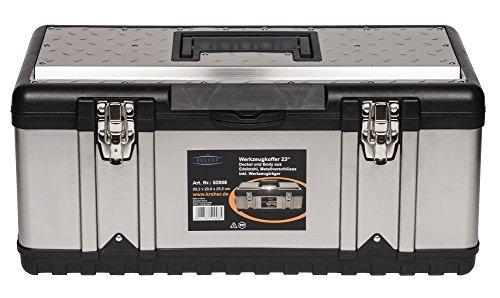 XXL Werkzeugkoffer PROFI 23 aus Edelstahl mit...