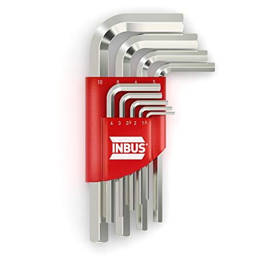 INBUS® 70150 Inbusschlüssel Set 9tlg,...