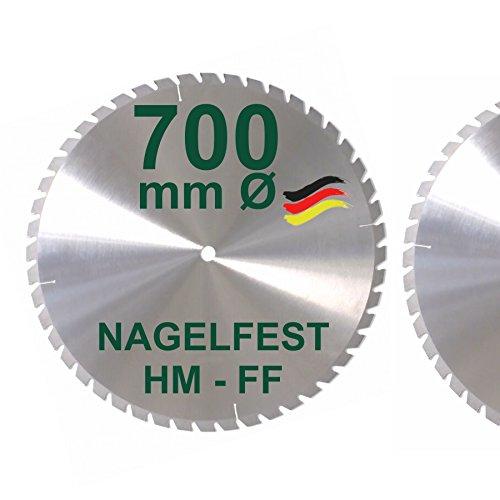 HM Sägeblatt 700 x 30 mm NAGELFEST FF...