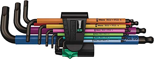 Wera 05073593001 950/9 Hex-Plus Multicolour 1...