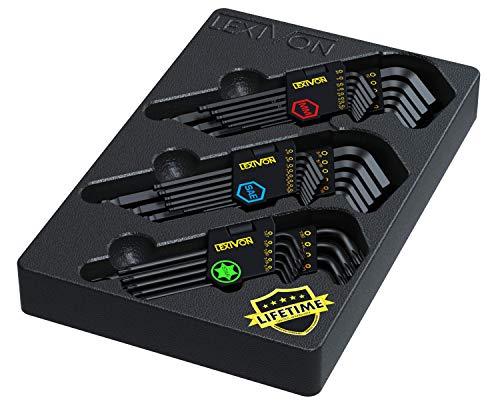 LEXIVON Inbusschlüssel Master Set,...