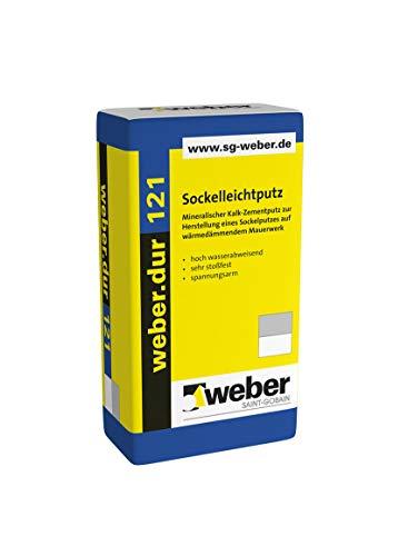 Weber.dur 121 Sockelleichtputz 30 kg...