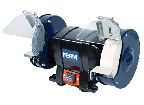 FERM Doppelschleifmaschine 250W - 150mm -...