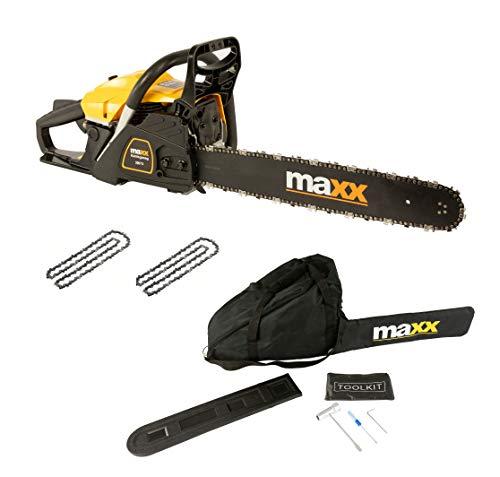 MaxxGarden - Kettensäge Benzin Mit 50 cm...