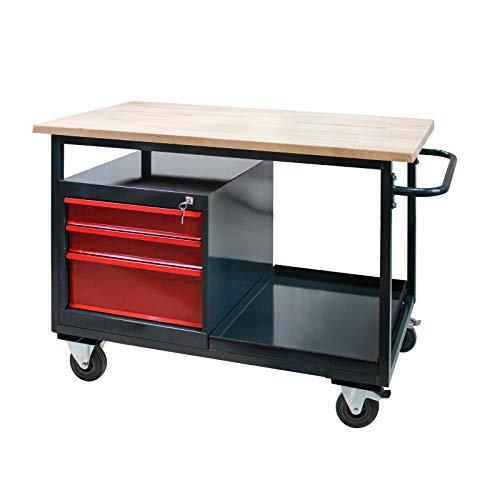 Tischwagen Arbeitswagen Werkbank mit...