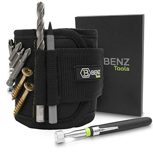 BENZ Tools® Magnetarmband Handwerker inkl....