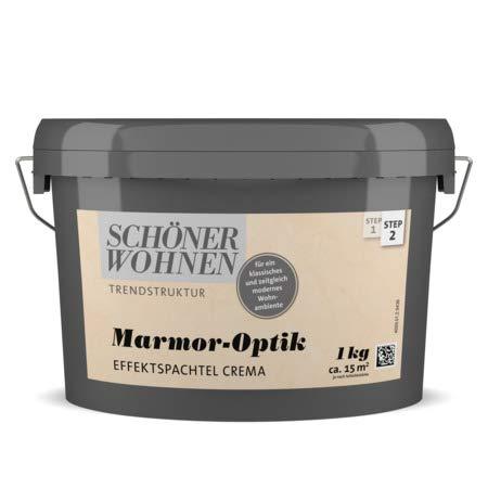 Marmor-Optik Effektspachtel 1 kg Schöner...