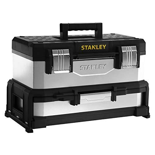 Stanley Werkzeugbox Metall-Kunststoff mit...
