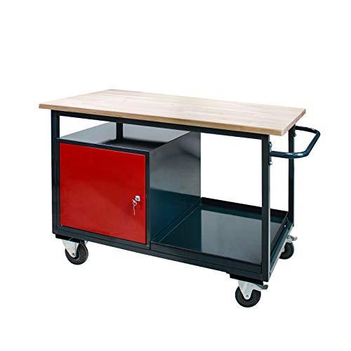 Tischwagen Arbeitswagen Werkbank auf...