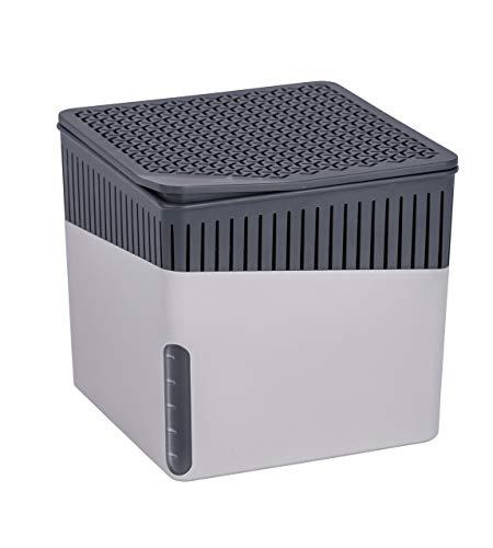 WENKO Raumentfeuchter Cube Grau 1000 g -...