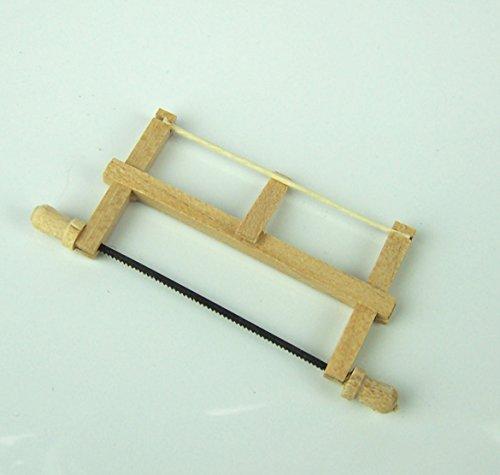 Miniatur Rahmensäge, Schreinersäge aus...
