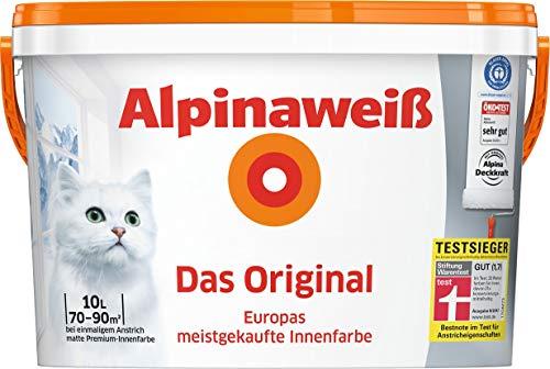 ALPINA Innenfarbe Das Original, Alpinaweiß...