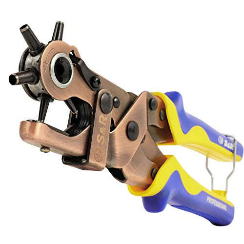 S&R Hebel-Revolverlochzange RUND 2- 2,5 - 3 -...