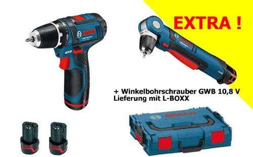 BOSCH Akkuschrauber GSR 10.8 +...