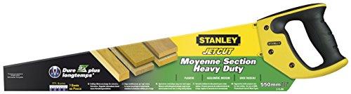 Stanley JetCut Handsäge grob (550 mm Länge,...