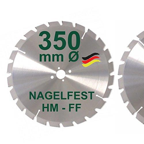 HM Sägeblatt 350 x 30 mm NAGELFEST FF...