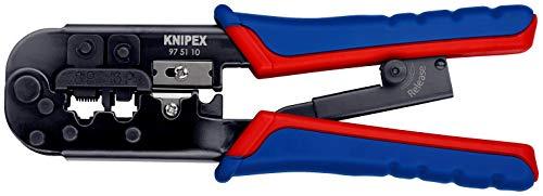 KNIPEX Crimpzange für Westernstecker (190...