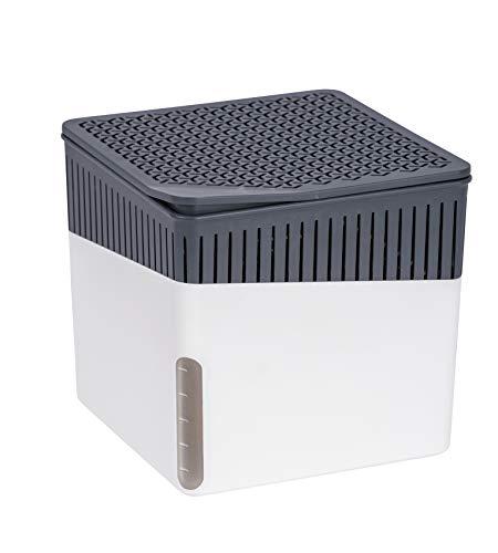 WENKO Raumentfeuchter Cube Weiß 1000 g -...
