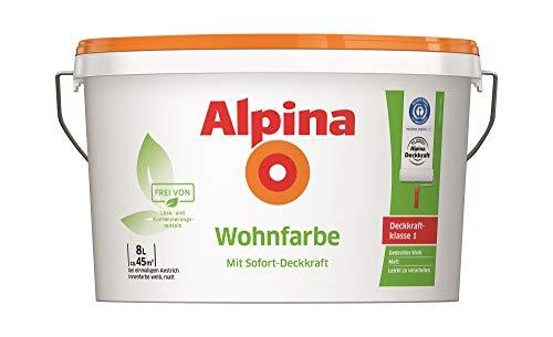 Alpina Wohnfarbe Wandfarbe Silikatfarbe hohe...
