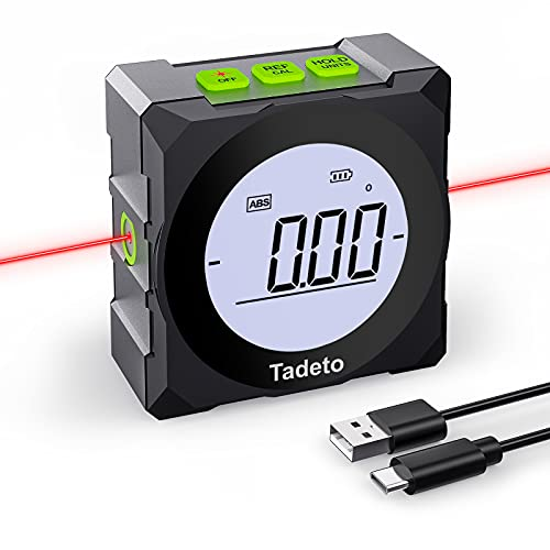 Tadeto Winkelmesser Digitaler LCD Bildschirm...