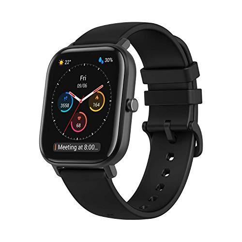 Amazfit Smartwatch GTS mit 12 Sportmodi, GPS...
