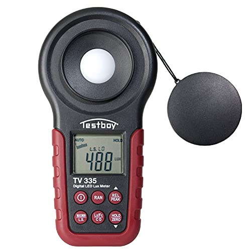 Testboy TV 335 digitales LED-Luxmeter bis...