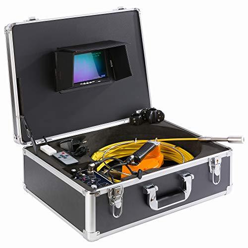 AREBOS Rohrkamera bis 30 m   mit USB...
