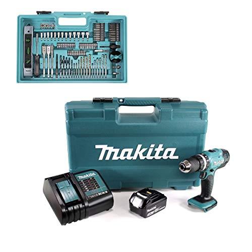 Makita DHP453FX12 Kombi-Bohrer, 18 V, mit 1 x...