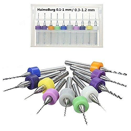 Haimoburg 20 Stück PCB Micro Spiralbohrer...