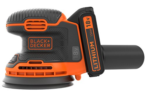 Black+Decker Akku-Exzenterschleifer (18V, 1,5...