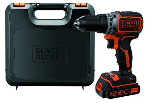 Black+Decker Akku-Bohrschrauber, Bohrmaschine...