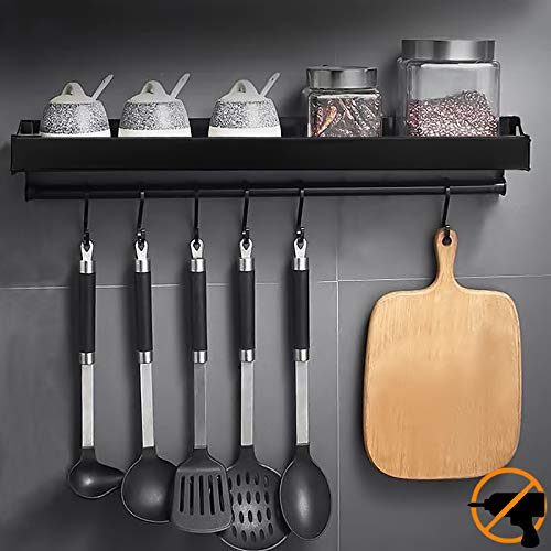 MOOING Küchenhalterung ohne Bohren mit 6...