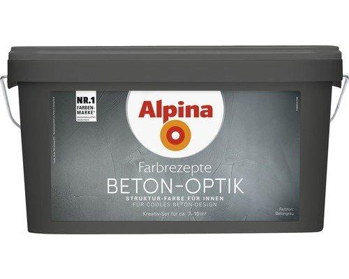Alpina Farbrezepte BETON ART Komplett-Set: 3...