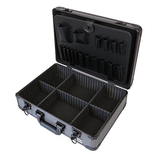 HMF 14601-02 Alu Werkzeugkoffer leer,...