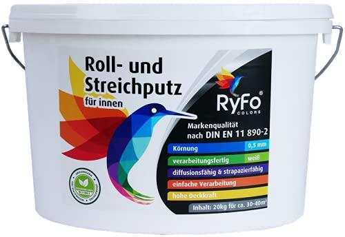 RyFo Colors Roll- und Streichputz für innen...