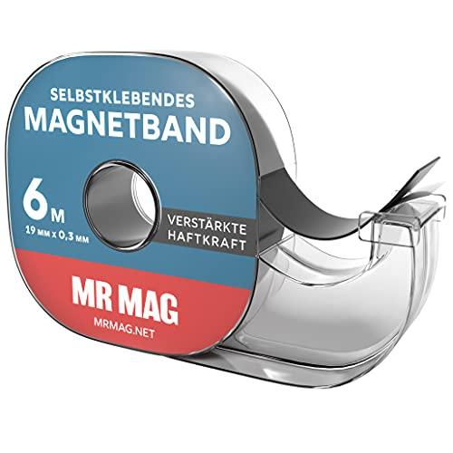 MrMag® Magnetband selbstklebend - 6m -...