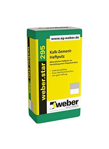 Weber.star 295 Kalk-Zement-Haftputz 1mm...