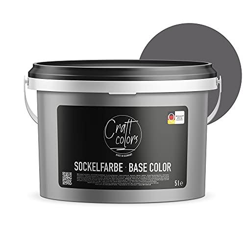 Sockelfarbe 5L Schiefer | hochwertige Farbe...