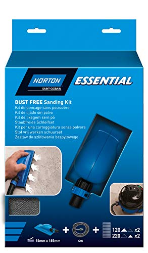 Norton ESSENTIAL Multi-Air Schleifblock + 4er...