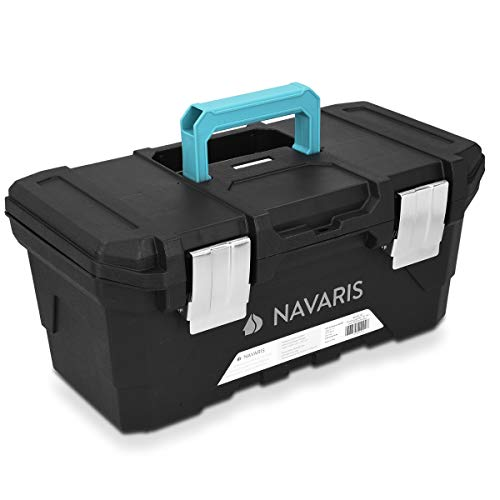 Navaris Werkzeugkasten 16' Box leer - 40,6 x...