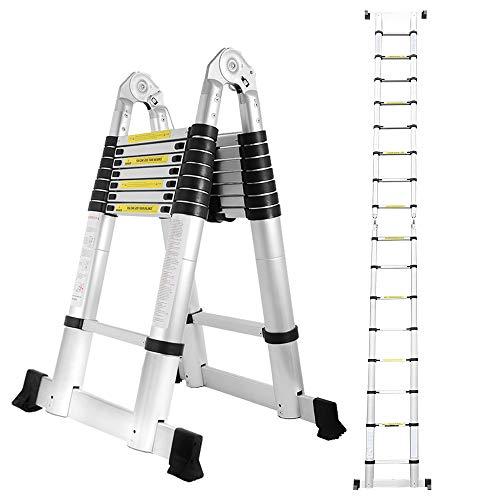 wolketon 5M(2.5+2.5M) Teleskopleiter...