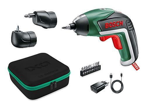 Bosch Akkuschrauber IXO Set (Winkelaufsatz...