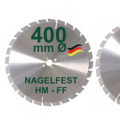 HM Sägeblatt 400 x 30 mm NAGELFEST FF...