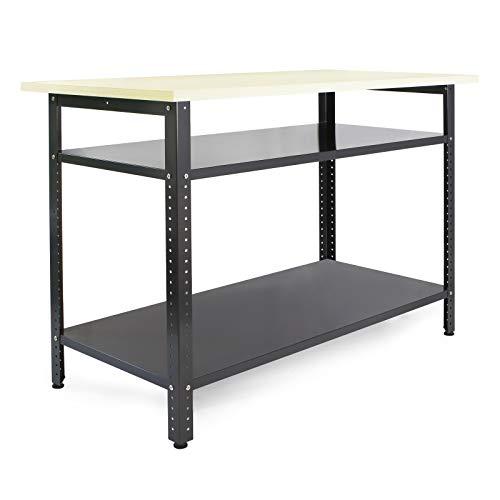 Werkbank 120x60x85cm Werktisch Werkstatttisch...
