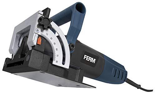 FERM BJM1009 Flachdübelfräse 900W - Mit 50...