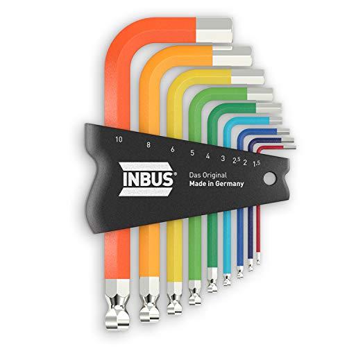 INBUS® 79870 Inbusschlüssel Set 9tlg,...