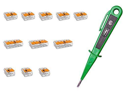 H+H Werkzeug WAG11 Hebelklemmen-SET 11 x WAGO...