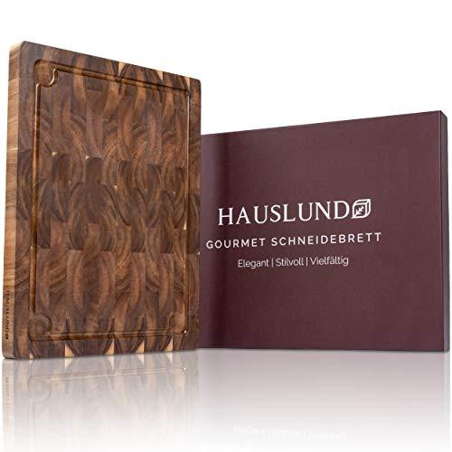 HAUSLUND® Schneidebrett Holz Groß...